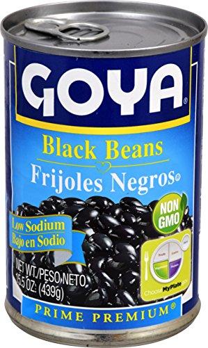 Goya Foods Black Beans Low Sodium