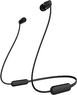 Sony WI-C200 Intraaural Banda para Cuello Negro - Auriculares (Intraaural, Banda para Cuello, Inalámbrico, 20-20000 Hz, 0....