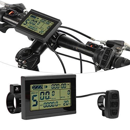 FOLOSAFENAR Instrumento práctico del LCD de la Bici del Metro del LCD de la Bici, para la Bicicleta eléctrica