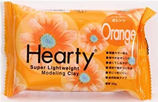 orange Hearty clay super lightweight from Japan