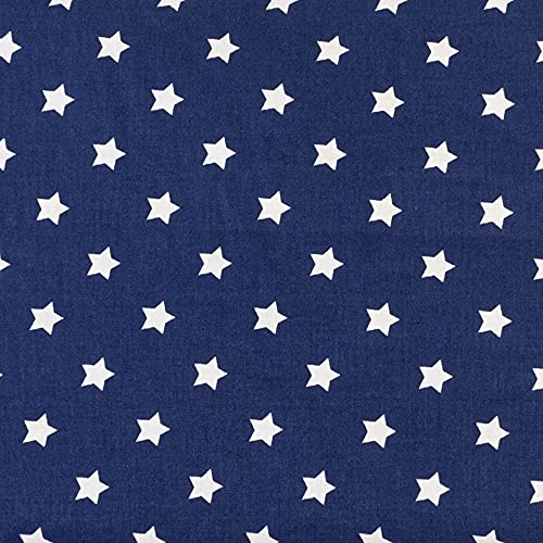Cuscino termico con noccioli di ciliegia, 40 x 30 cm, 3 camere – stelle blu – Cuscino termico – Cuscino a semi