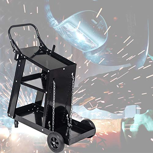 Chariot multifonctionnel de réparation de soudure, découpage de plasma stockage d'arc de Mig Tig