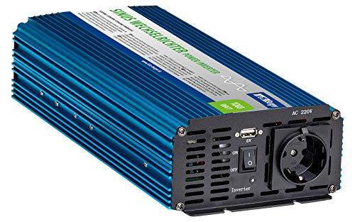 Berger Sinus-Wechselrichter Sinusspannung bei 230 V Spannungswandler Einsatz bei Solaranlagen (1000 W)