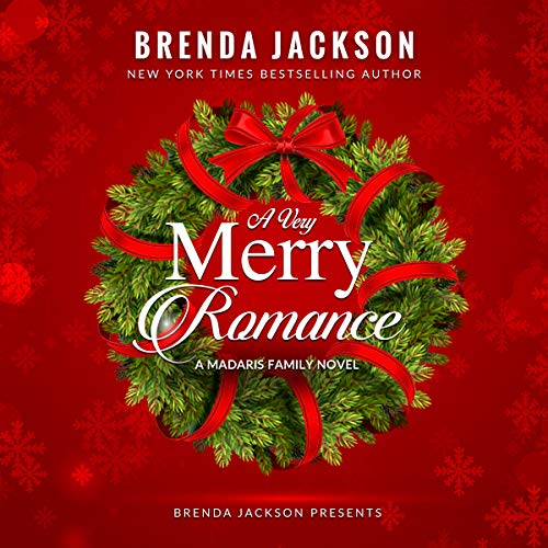 A Very Merry Romance audiobook cover art
