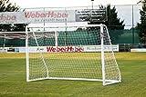 ¡OFERTA! Portería de fútbol POWERSHOT ® 'PRO' 2,4 x 1,8 m, de PVC y anti-UV, con 2 AÑOS de garantía! Bolsa de Transporte y Pared de Tiro incluidas!!