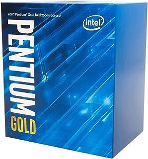 معالج سطح المكتب Intel Pentium Gold G6405 4.1 جيجا هرتز 4 ميجا بايت محاصر