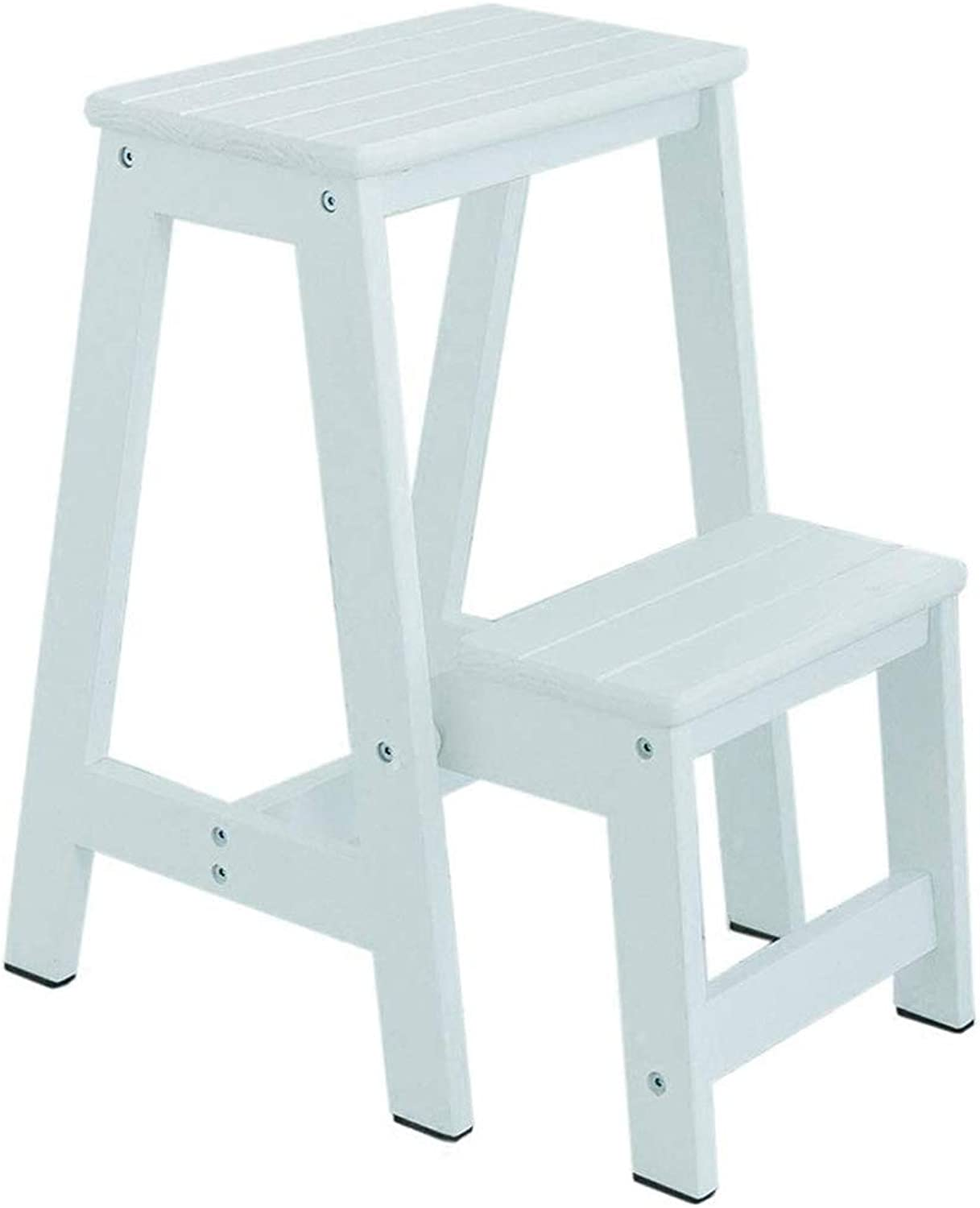 Stair Stool Two-Story Solid Wood Folding Ladder Multi-Function Combination Step Stools