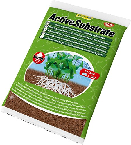 Tetra Substrato fertilizzante naturale per le piante, 10 l