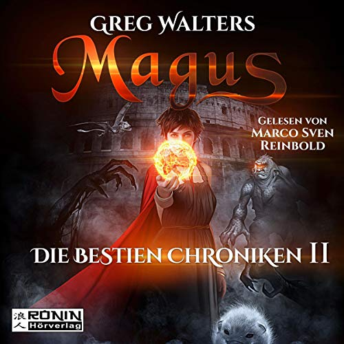 Magus audiobook cover art