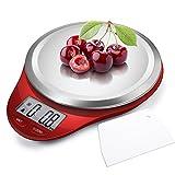 CAMRY Bilancia da cucina Digitale, Bilancia Elettronica ad Alta Precisione con Display LCD, Funzione...