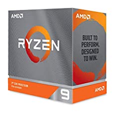 The world's fastest 12 core processor for mainstream desktop, with 24 procesing threads Can deliver ultra-fast 100+ FPS performance in the world's most popular games Cooler not included, liquid cooler with 280mm or larger radiator recommended 4.7 GHz...
