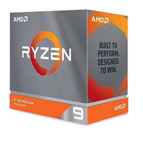 AMD RyzenTM 9 3900XT Prozessor (12 Kerne/24 Threads, 70MB Cache, bis zu 4,7 GHz Max Boost) - ohne Kühler, AMD Ryzen 9 3900XT