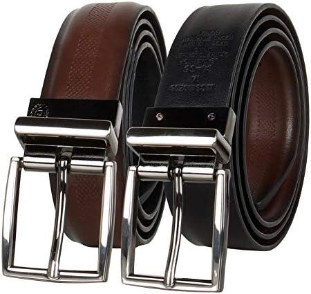 Chaps Men s Reversible Dress Belt Classic Brown Black Medium 34 36 product image