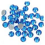 QQINGHAN Rhinestone Flatback mejor cristal Hotfix Rhinestone Glitter Iron On Rhinestones ropa (color: 0014, tamaño: SS10-1440pcs)