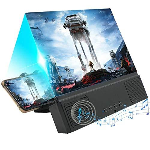 GuDoQi 5D Bildschirm-Lupe Smartphone mit Bluetooth-Lautsprecher, 12