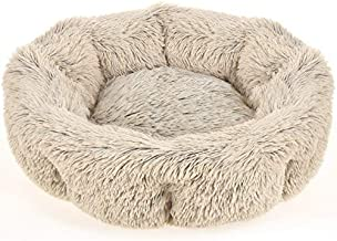 URPOWER Dog Bed, Upgraded Donut Cuddler Round Dog and Cat Cushion Bed, Ultra Soft Cozy Pet Beds Fluffy Dog Calming Bed Cat Beds for Improved Sleep - Removable and Supportable Bottom