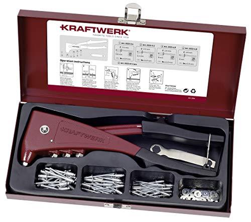Kraftwerk-Coffret de pince à rivets sertir riveter RIVETEUSE 2224