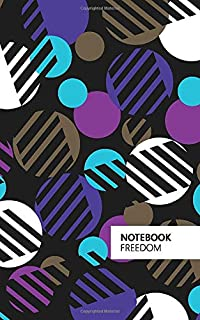 Freedom Notebook: (Purple Edition) Fun Notebook 96 Ruled/Lined Pages (5x8 inches / 12.7x20.3cm / Junior Legal Pad/Nearly A5)