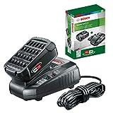 BOSCH 1.600.A00.K1P Starter Set con batería, 2.5Ah y cargador rápido, 18 W, 18 V, 2 Piezas