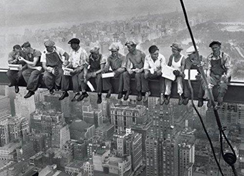 Lunch On a Skyscraper New York City Poster Art Print 24x36