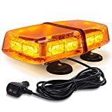 WoneNice Amber 12-24V 36 LED Emergency Warning Flashing Lights Hazard Beacon...
