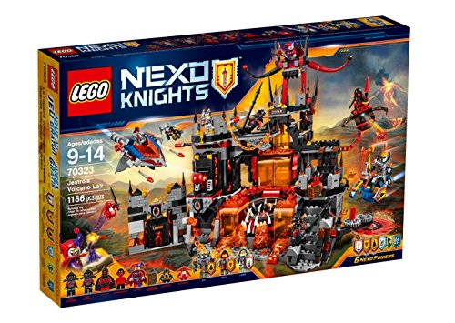 Lego Nexo Knights - Guarida volcánica Jestro 70323
