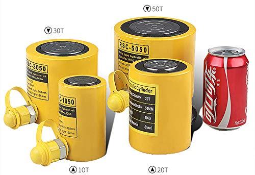 Hydraulikzylinderheber Einzelwirkender Hydraulikzylinder -Set 50 mm , dünn, Ölzylinder, RSC-10T, 20T, 30T, 50T