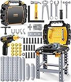 GeyiieTOYS Werkzeugkoffer Werkzeug Kinder Spielzeug Werkzeugkasten...