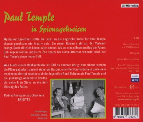 Paul Temple und der Fall Lawrence