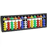 vcrou Soroban aritmético portátil con Cuentas Coloridas Matemáticas Herramienta de cálculo Ábaco