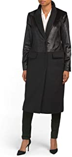 Karen Millen Black Wool Coat