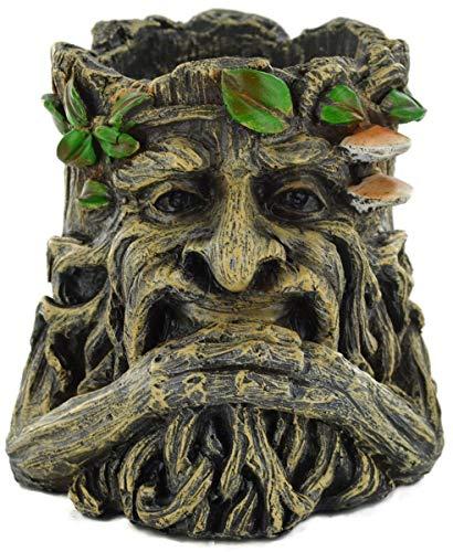 Fiesta Studios Tree Ent – Pot tenant une barbe fantaisie pour décoration de jardin 14 cm de hauteur