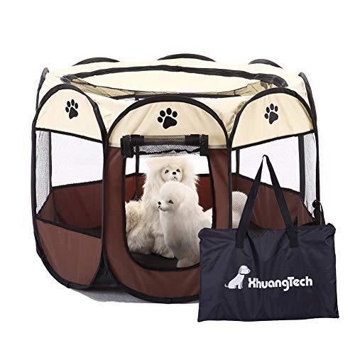 XianghuangTechnology - Box per animali domestici, in morbido tessuto, portatile e pieghevole, uso in ambienti interni ed esterni