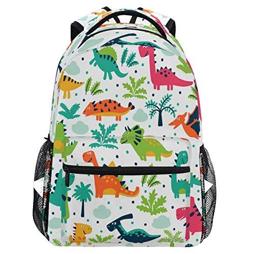 Mochila de dinosaurios para niñas, niños, árbol, dino, dragón, escuela, impermeable, para estudiantes, portátil, mochila universitaria, bolsa de transporte, casual, duradera, ligera