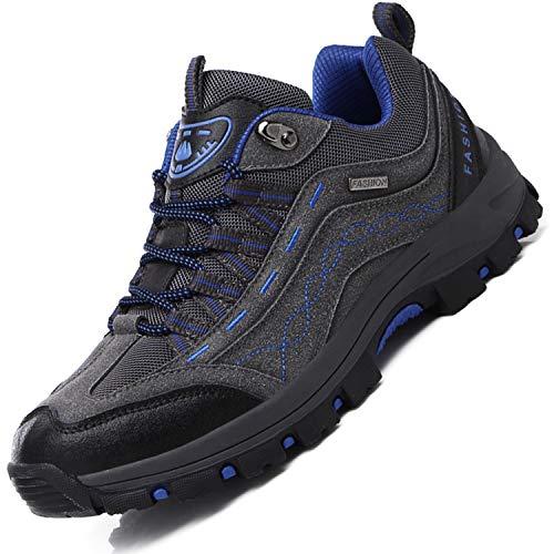 Brfash Wanderschuhe Herren Wasserdicht Trekking Schuhe Hiking Boots Outdoor Walking Schuhe Gleitsicher Stiefel