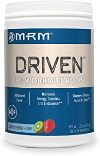 MRM Driven Pre Workout Powder for Training Boost - (Strawberry Kiwi)