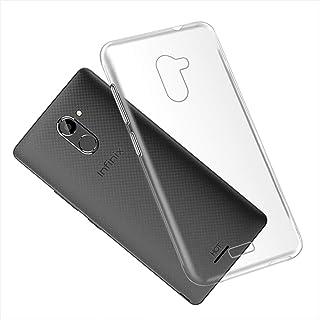 Infinix Hot 4 X557 Case, Scratch Resistant Soft TPU Back Cover Shockproof Silicone Gel Rubber Bumper Anti-Fingerprints Ful...