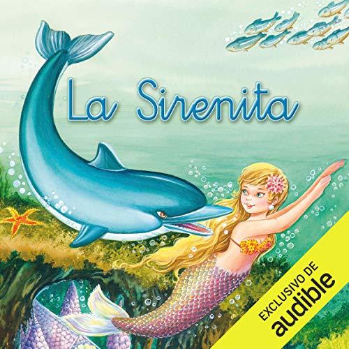 Diseño de la portada del título La sirenita