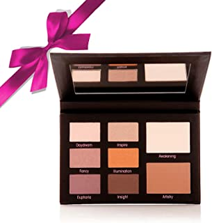 Mally Beauty - Muted Muse Eyeshadow Palette - For All Eye Colors - Light, Medium, and Deep Shades in Cool and Warm Tones -...