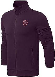 LI-NING Wade Men Hoodies Slim Fit Zip Stand Neck Jackets Interlock Knit Fitness Comfort Sports Sweaters AWDN095