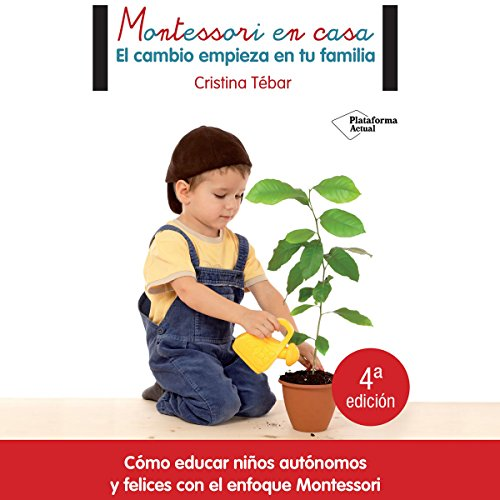 Montessori en casa [Montessori at Home] audiobook cover art