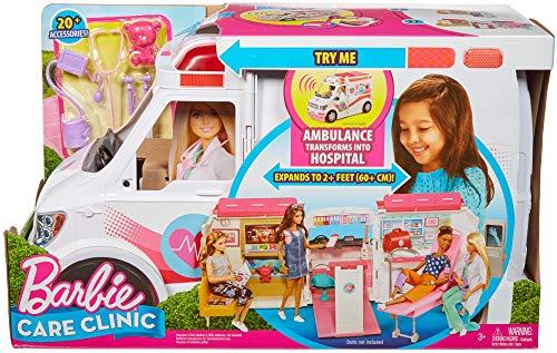 Ambulance de Secours Clinique Soins Médical Barbie - 5