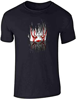 You'll Float Too Horror Clown Scary Costume Graphic Tee T-Shirt for Men