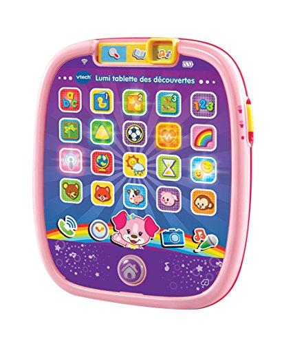 VTech- Lumi Tablette Des Découvertes, 602955, Rose - Version FR
