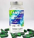 TANTUM de Sana Love®- Aumenta el esperma de forma natural para una mayor potencia - 1 paquete (1 x 60 cápsulas)