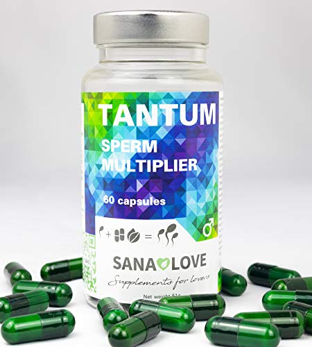 SANA LOVE® -TANTUM – Natürlich mehr Sperma, mehr Potenz. Vegan, vegetarisch, glutenfrei, ohne Konservierungsstoffe, ohne zusätzliche Aromen, ohne Nüsse, nicht...