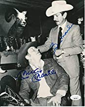 Mickey Mantle & Billy Martin Yankees Cowboy Dual-Signed 8x10 Photo 142504 - JSA Certified - Autographed MLB Photos