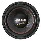 Genius N10-15D4 15' 3000 Watts-Max Nitro Competition Dual 4-Ohms Car Audio Subwoofer