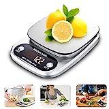 Ubegood Balance de Cuisine Electronique, Balance Numérique Cuisine 10kg/1g Balance Cuisine Acier...
