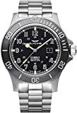 Glycine Combat sub 48 Mens Analog Swiss Automatic Watch with Stainless Steel Bracelet GL0095